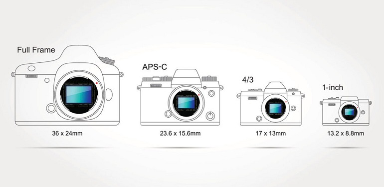 ​Full Frame vs Crop Frame Sensors