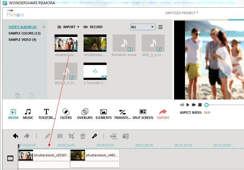 how to join all you videoaudioimages